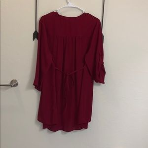 Torrid Red 3/4 sleeve shirt